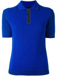 трикотажная рубашка-поло Maison Margiela