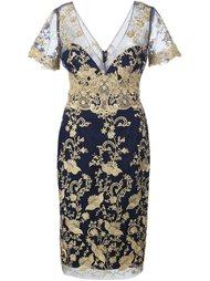 кружевное платье  Marchesa Notte