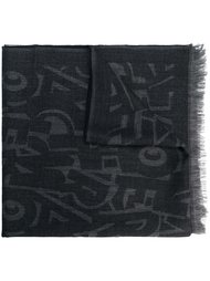 шарф с принтом  Salvatore Ferragamo