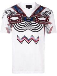 футболка с этническим принтом Les Hommes
