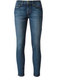 укороченные узкие джинсы Current/Elliott