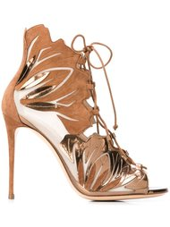 босоножки на шнуровке Casadei