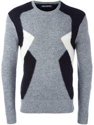 свитер дизайна колор-блок Neil Barrett