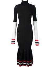 платье с контрастной окантовкой в полоску Circus Hotel