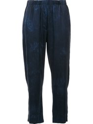 dyed cropped trousers Raquel Allegra