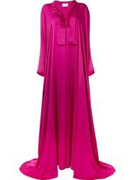 charmeuse wrap gown  Maison Rabih Kayrouz