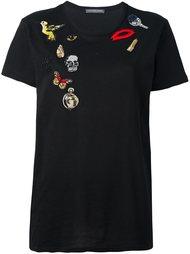 футболка 'Obsession' Alexander McQueen