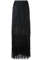 плиссированная юбка  Elie Saab