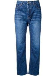 джинсы прямого кроя   Le Ciel Bleu