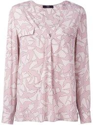 блузка с цветочным принтом Steffen Schraut