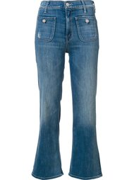 'Maverick' cropped jeans Mother