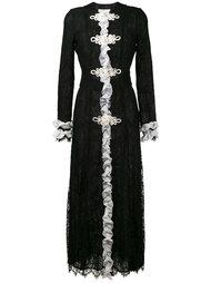 платье макси с рюшами Alessandra Rich