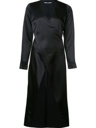 длинная блузка с перекрещенным дизайном Rosetta Getty
