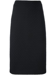 юбка прямого кроя Armani Collezioni