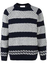 фактурный свитер  White Mountaineering