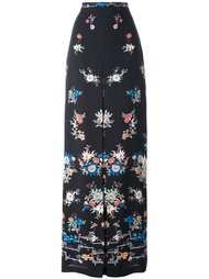 юбка с цветочным принтом   Vilshenko