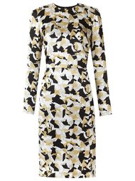 long sleeves printed dress Andrea Marques