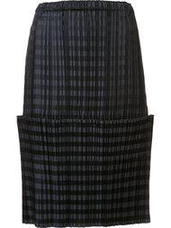 'Dim Light' skirt Issey Miyake