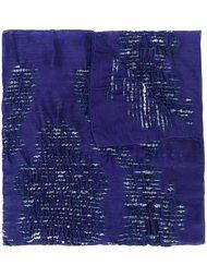шарф с вышивкой Armani Collezioni