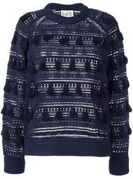 свитер с бахромой  Sea