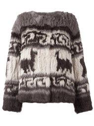 куртка с Перуанским принтом P.A.R.O.S.H.