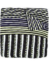 striped scarf Issey Miyake