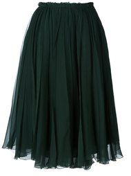 плиссированная юбка Rochas