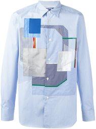 рубашка с лоскутными панелями Junya Watanabe Comme Des Garçons Man