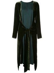 многослойное платье Lanvin