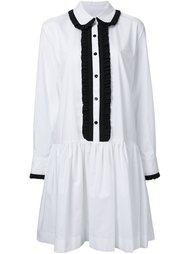 платье-рубашка с контрастной окантовкой  Antonio Marras