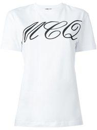 футболка с принтом татуировки McQ Alexander McQueen