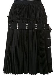 классическая юбка А-силуэта  Sacai