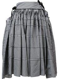 пышная юбка в клетку Comme Des Garçons Tricot