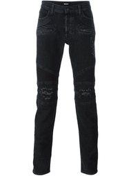 джинсы кроя скинни с потертой отделкой Hudson