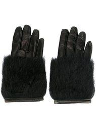 перчатки с шерстяной отделкой  Paloma Barceló