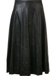 драпированная юбка с завышенной талией Rebecca Taylor