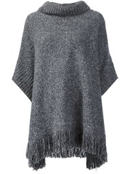 свитер свободного кроя с бахромой Joie
