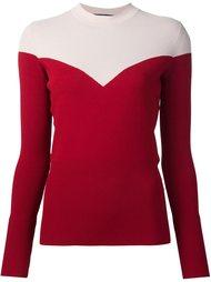 свитер в стиле колор-блок  Paule Ka