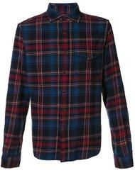фланелевая рубашка в клетку 'Cabin' Alex Mill