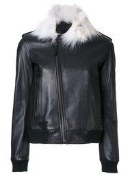куртка с контрастным воротником Anthony Vaccarello
