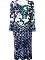 платье с принтом 'Jewel Cloud' Mary Katrantzou