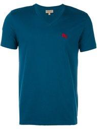 футболка с V-образным вырезом Burberry