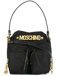 сумка-тоут в стиле рюкзака Moschino