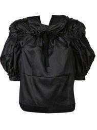 блузка с бантом Comme Des Garçons Tricot