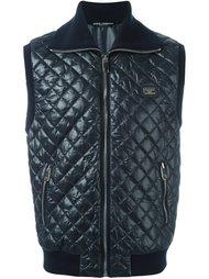 стеганый жилет Dolce & Gabbana