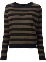 свитер в полоску Vince