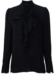 блузка с оборками  Kobi Halperin