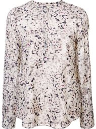 floral print longsleeved blouse Rebecca Taylor