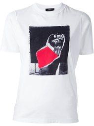 футболка с логотипом Yang Li