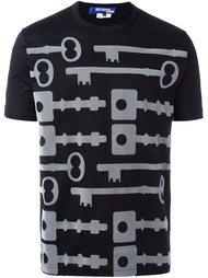 футболка с принтом ключей Junya Watanabe Comme Des Garçons Man